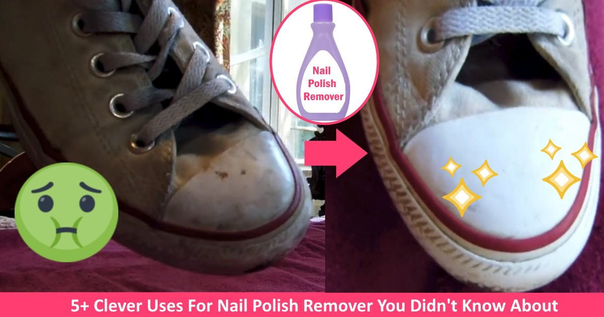nailpolishremoverhacks.jpg?resize=300,169 - 5+ Clever Uses For Nail Polish Remover You Didn't Know About