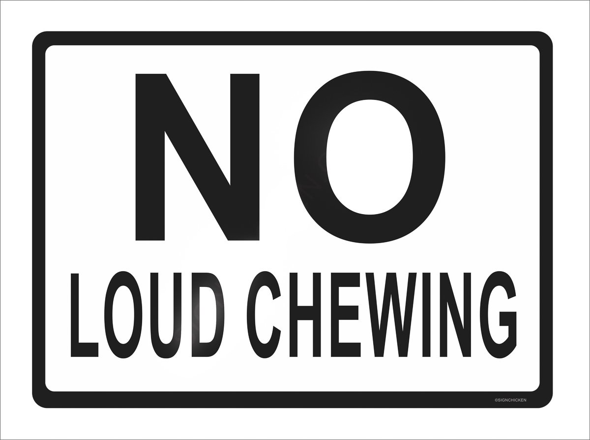 no loud chewing watermark 2 - Being Disturbed By Noisy Chewing Is Psychiatric Disorder, Not A Personal Preference