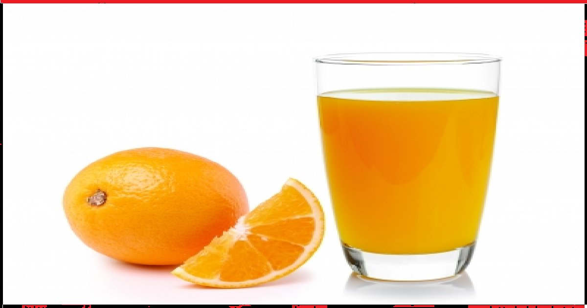 orange juice - Flush Out Nicotine From Your Body By Mixing This Thing With Orange Juice