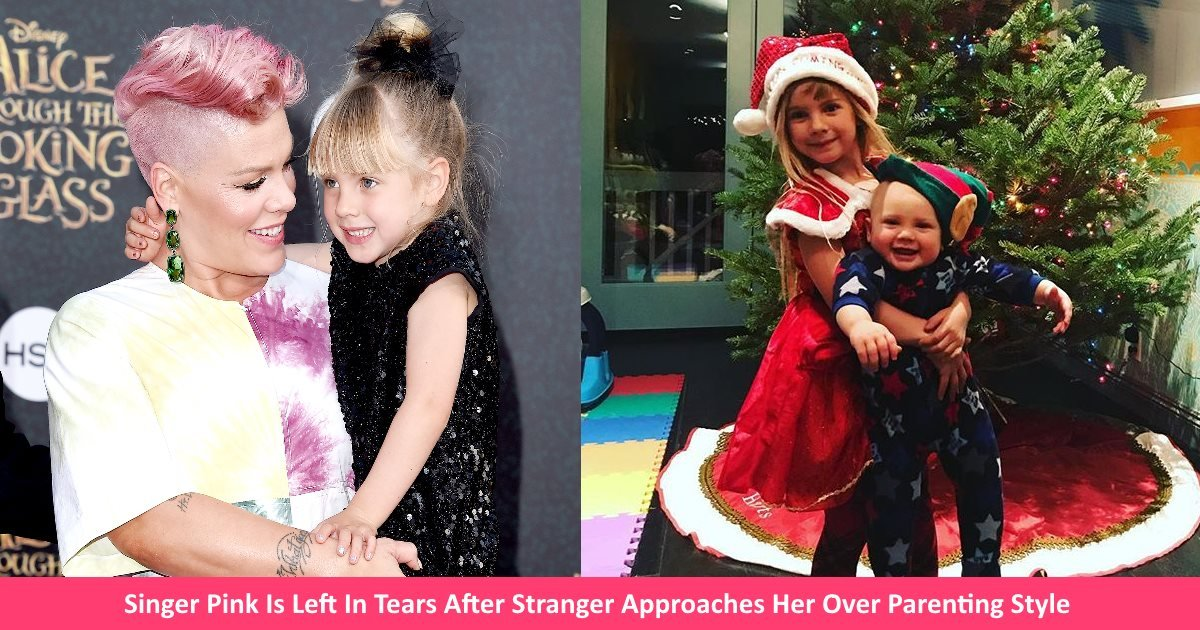 pinkmother.jpg?resize=412,275 - Singer Pink Left In Tears After Stranger Approached Her And Praised Her Parenting Style