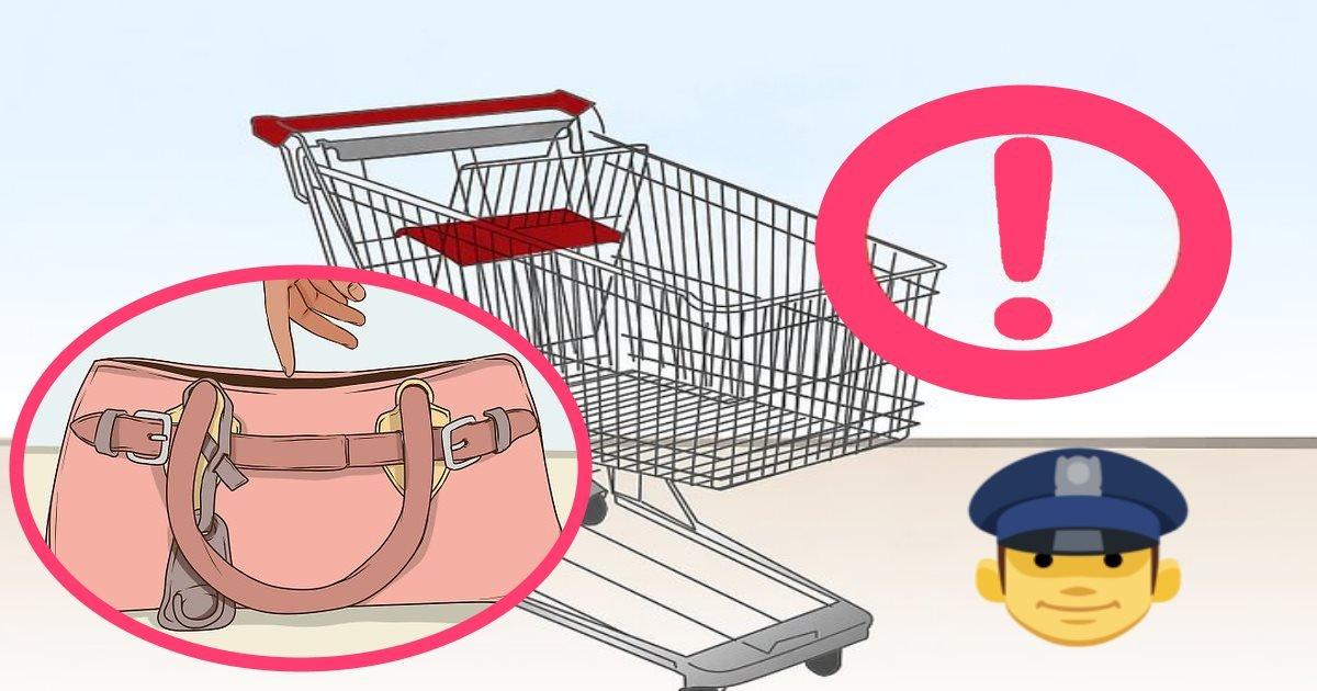 policewarningthieves.jpg?resize=1200,630 - Découvrez une astuce simple contre les vols au supermarché