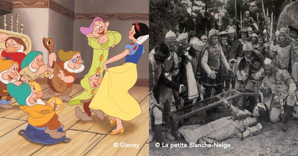 portada - Los orígenes macabros de los famosos cuentos infantiles de Disney
