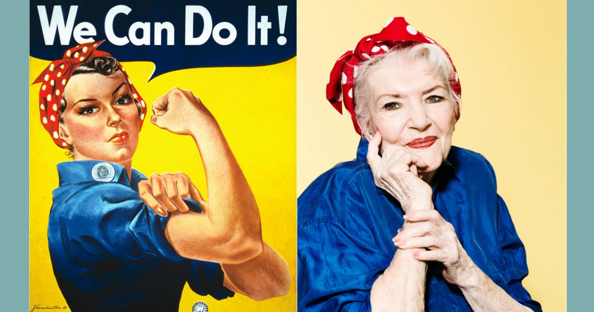 rosie 1.jpg?resize=648,365 - The Real 'Rosie the Riveter' Went Unknown For Seventy Years, Dead At 96