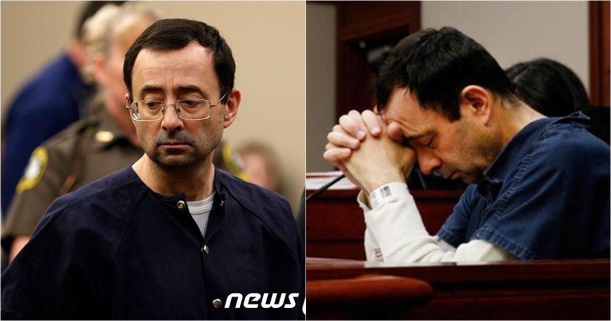 s 79 - 美 법원, 30년간 선수 성폭행한 체조팀 주치의에게 '징역 175년' 선고