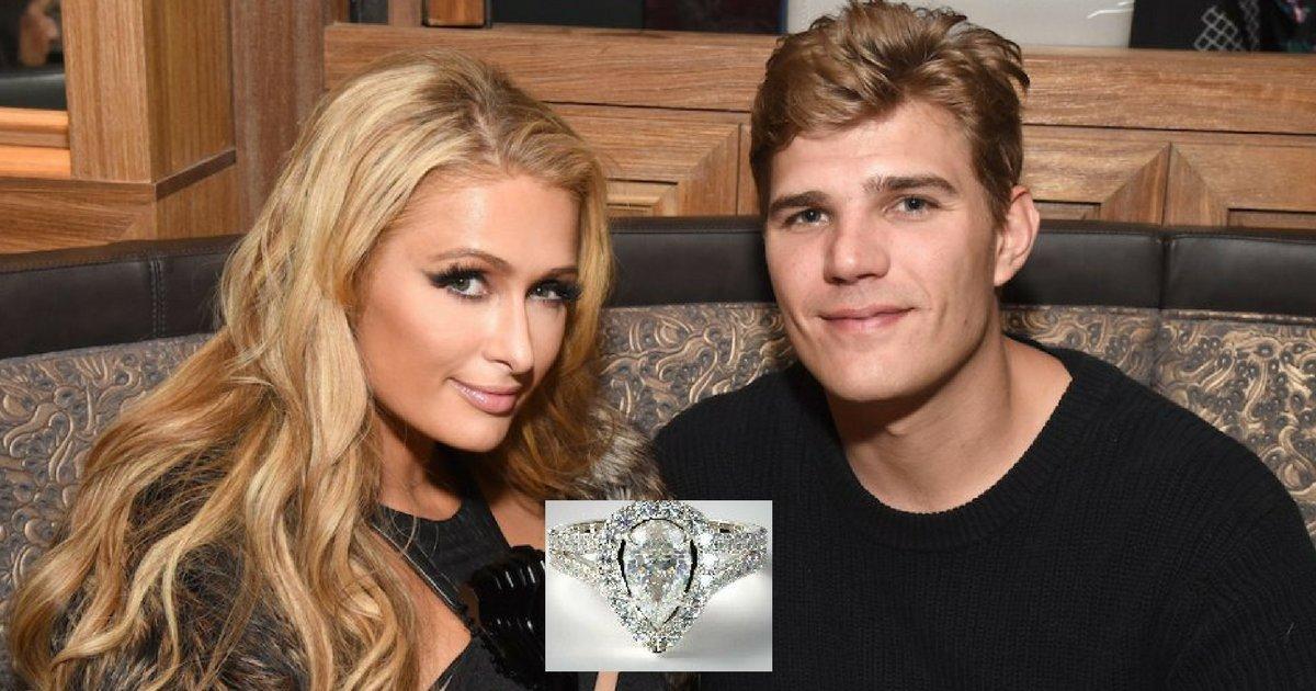 sans titre 2 2 - Paris Hilton s'est fiancée, et son alliance a ses propres bodyguards