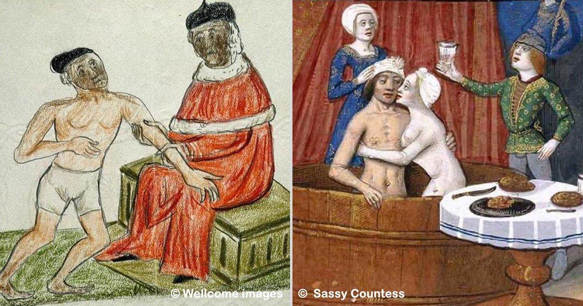 """sassy countess - Você vai se surpreender com os hábitos de """"higiene"""" comuns na Idade Média – prepare-se para um show de nojeiras!"""