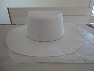 ハット 型紙에 대한 이미지 검색결과