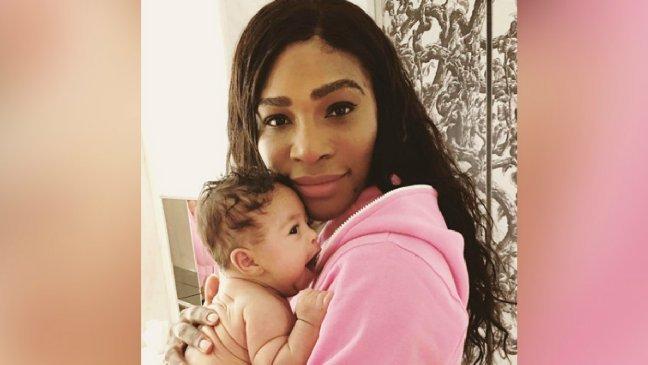 serena williams teething 6 1 - Serena Williams cherche de l'aide auprès de ses fans quand sa fille fait ses dents