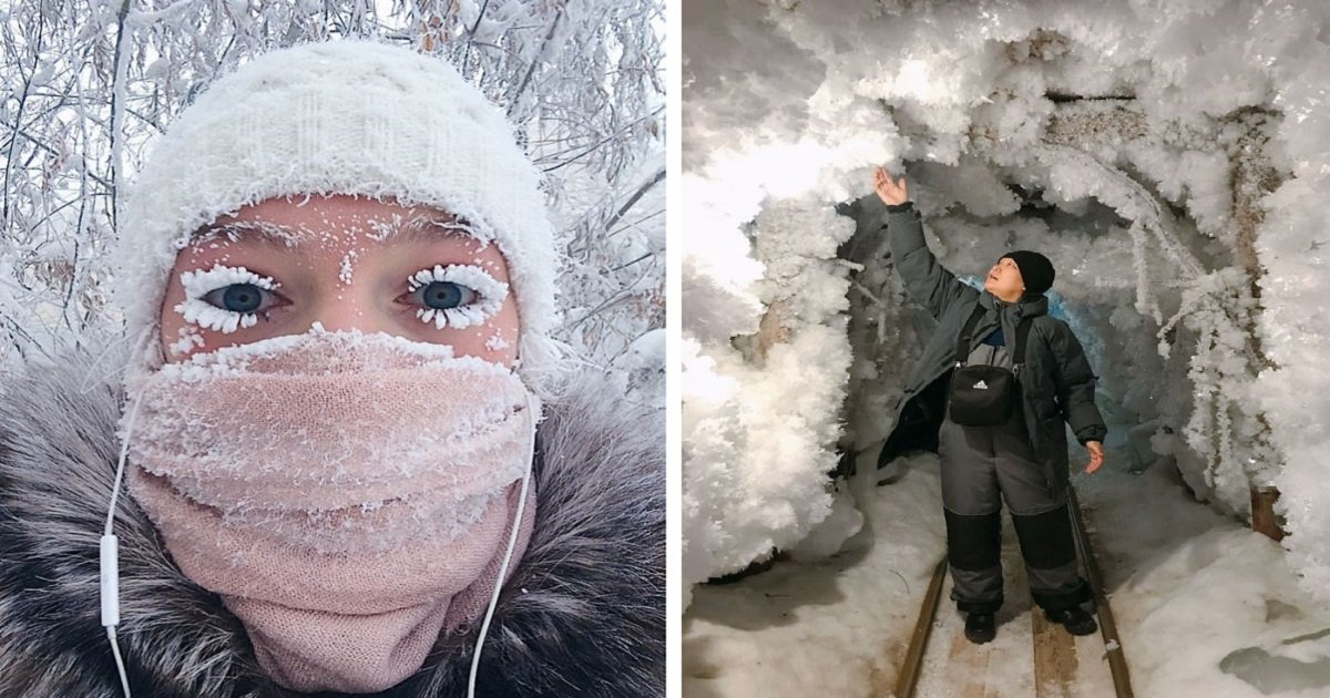 siberia1 1 - World's Coldest Village Hits -62°C (-80°F) And Has Breathtaking Pictures As Result