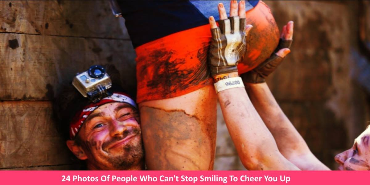 smilingphotos.jpg?resize=300,169 - 24 Photos Of People Who Can't Stop Smiling To Cheer You Up