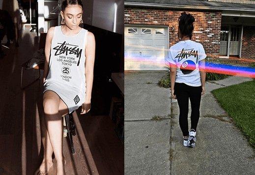 ストリートファッションのレディースコーデ Tシャツ에 대한 이미지 검색결과
