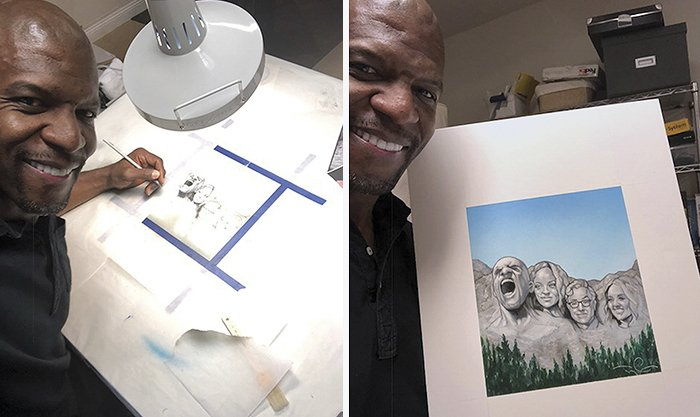 talented artist terry crews 5a3bae3c78a4b  700 - Terry Crews Stunned Everyone With His Hidden Talent