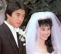 Image result for 山口智子 唐沢寿明 結婚