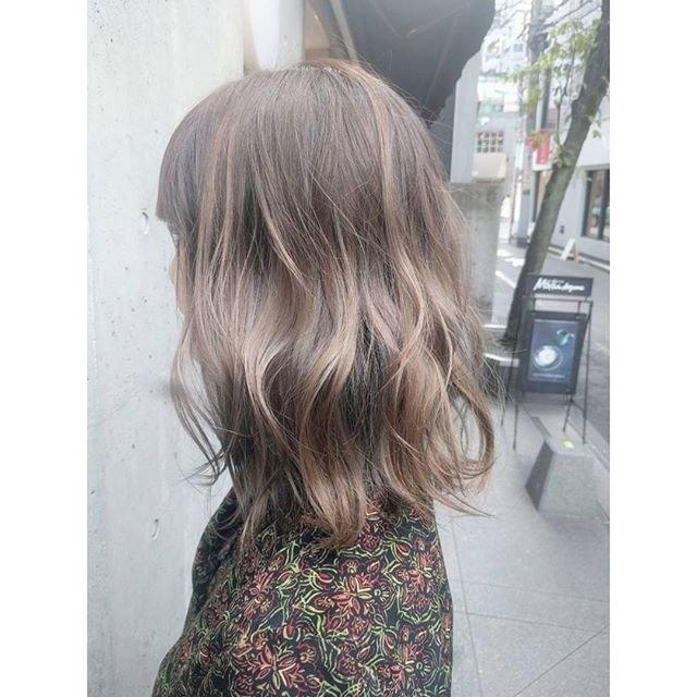 髪色,アッシュ カラードグレー에 대한 이미지 검색결과