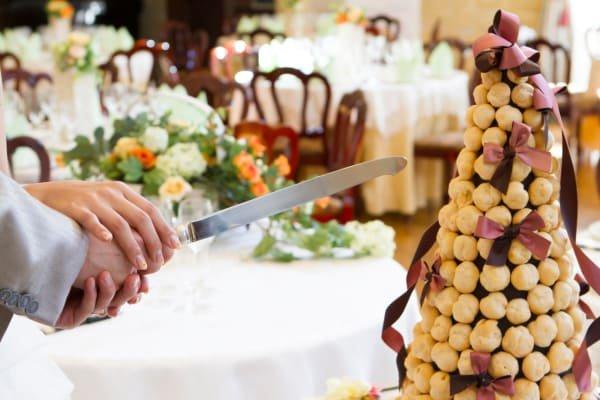 Image result for クロカンブッシュ 結婚式