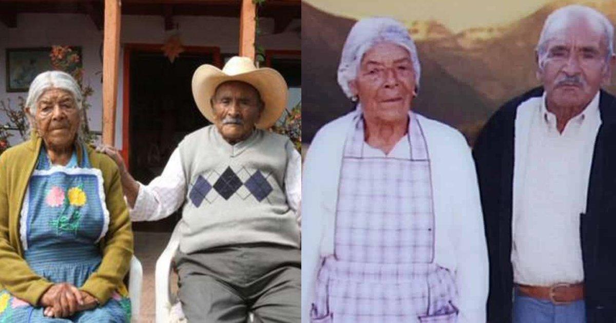 thumbnail53w4.png?resize=1200,630 - Esse casal está junto há 85 anos, possui 110 bisnetos e se ama mais do que nunca!