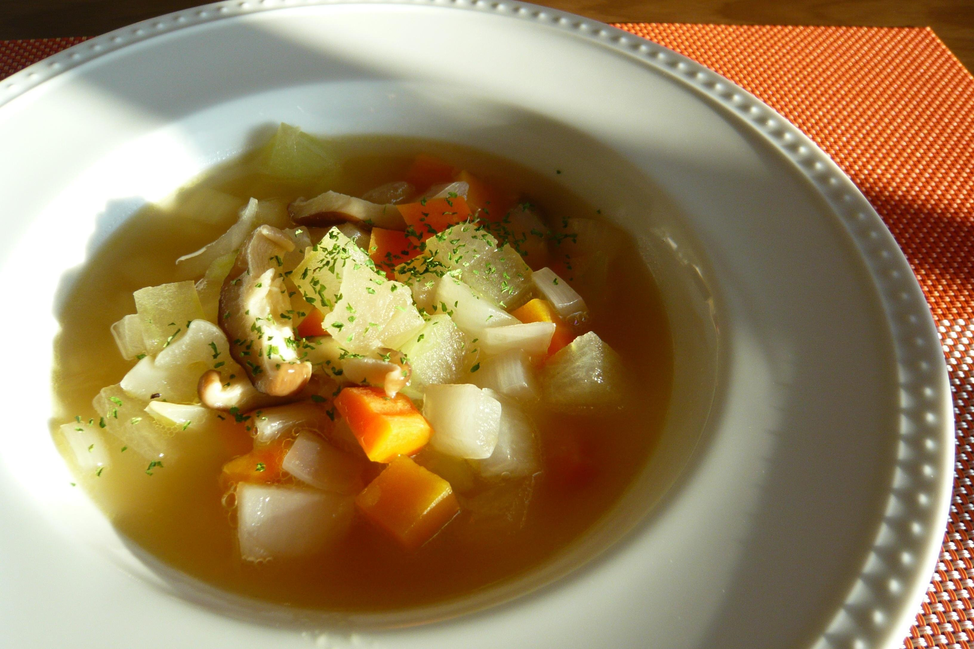 Image result for 冬瓜 野菜スープ
