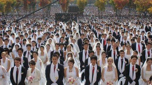 統一教会 合同結婚式에 대한 이미지 검색결과
