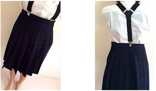 サスペンダースカート 学生服에 대한 이미지 검색결과