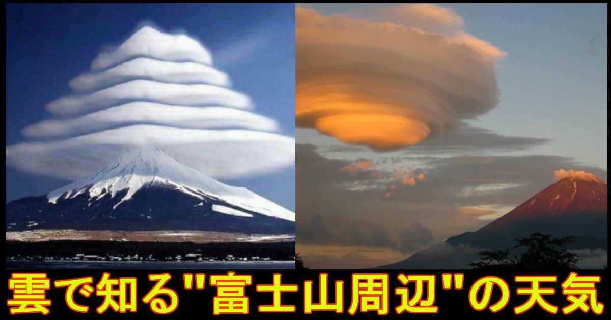 unnamed file - 雲でわかる!?富士山周辺の天気