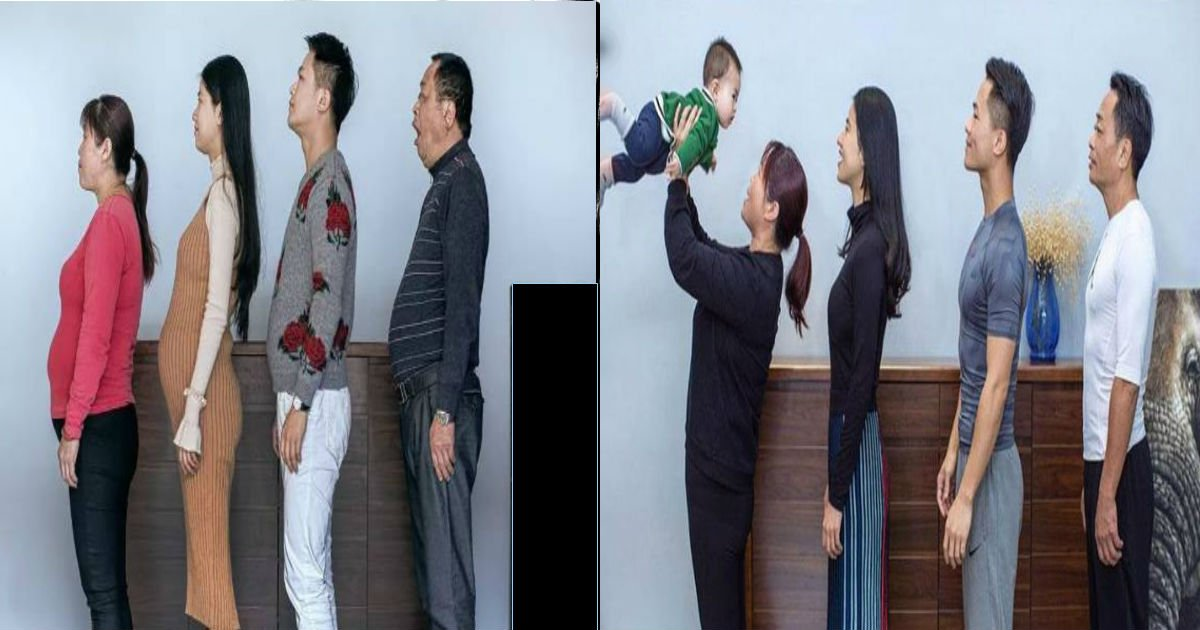 untitled.jpg?resize=1200,630 - Chinese Family Goes On A Diet For Their New Year's Resolution -The Results Are WOW!
