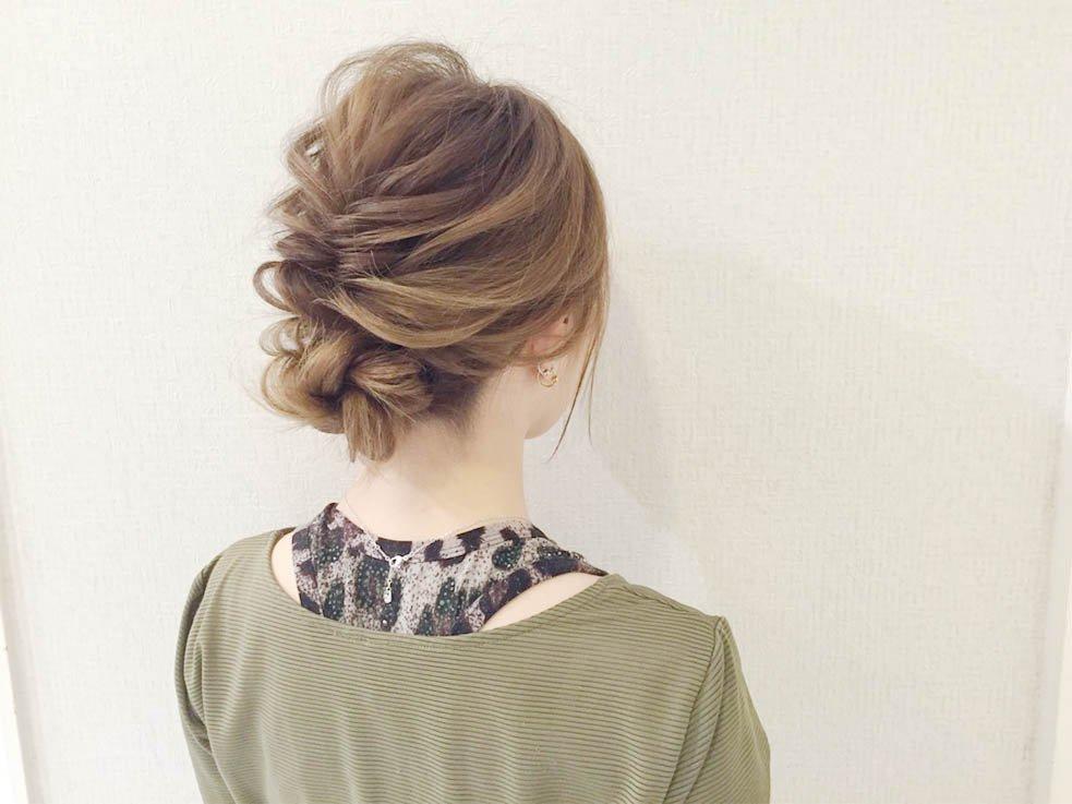 wedding easy hairstyle arrangement 56 - 結婚式にお呼ばれ!簡単髪型アレンジ方法