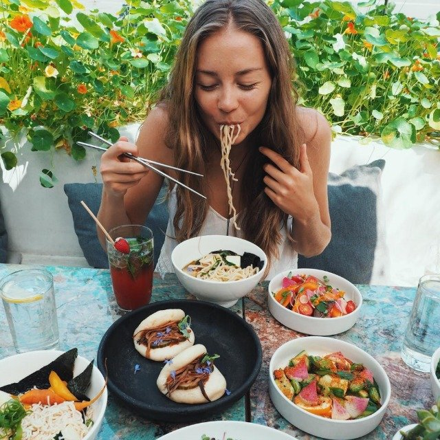 Image result for モデルの食事