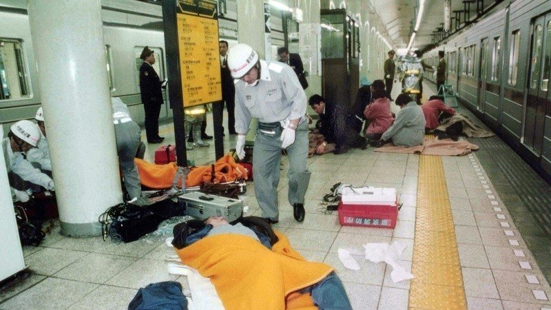 Image result for 地下鉄サリン事件