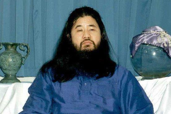 Image result for 地下鉄サリン事件 麻原彰晃