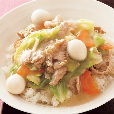 Image result for 中華丼