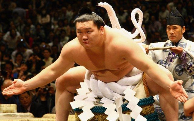 Image result for 横綱の白鵬
