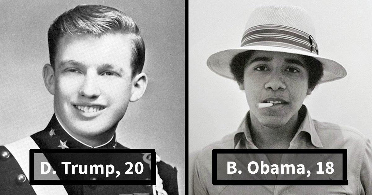 young us presidents fb.png?resize=412,232 - Découvrez les présidents américains pendant leur jeunesse