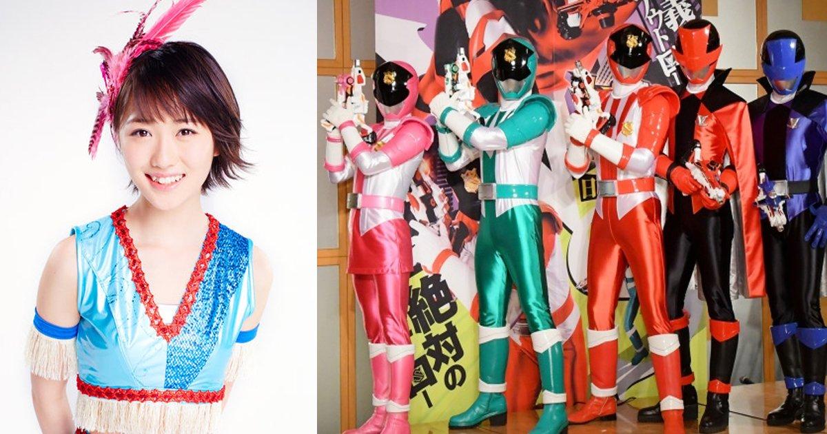 zentai - 元モーニング娘、工藤遥が史上初のダブル戦隊ヒロイン?!「一生の宝物に」