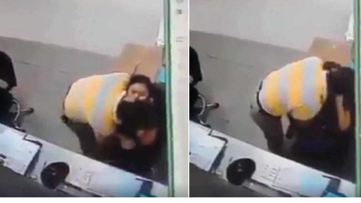 1 147 - 여학생이 움직일 수 없게 붙잡고 강제로 키스한 교수...공분(영상)