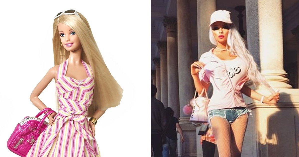 1 501 - '바비 인형'같은 외모를 유지하기 위해 매달 150만원 쓰는 18살 소녀
