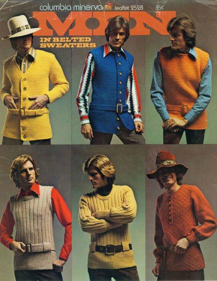 12 61 - 절대 돌아오지 않았으면 하는 1970년대 남자 패션 (사진 15장)