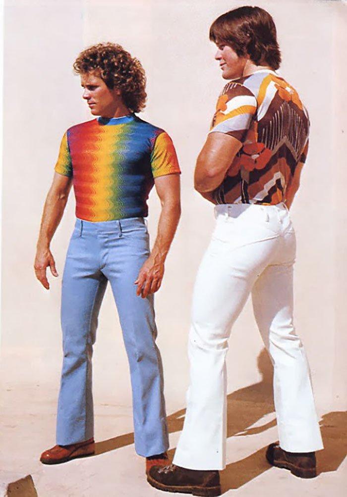 14 55 - 절대 돌아오지 않았으면 하는 1970년대 남자 패션 (사진 15장)