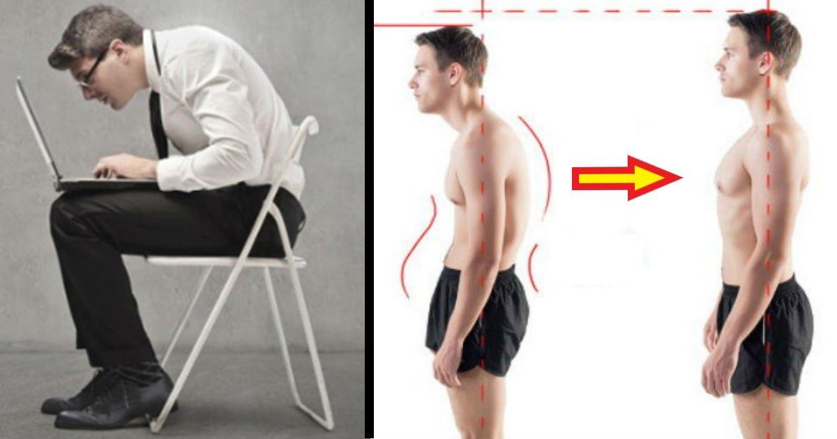 143132.jpg?resize=1200,630 - 휜 허리 때문에 작아보였던 당신의 '숨은 키'를 찾아줄 허리 운동법 8가지