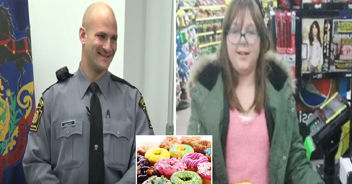 1ec8db8eb84ac 4.jpg?resize=300,169 - Cop Pays For Little Girl's Donut But She Pays It Forward