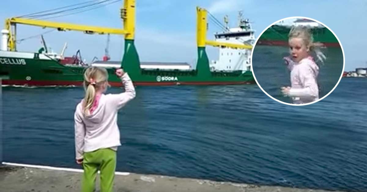 1ec8db8eb84ac 8.jpg?resize=636,358 - Little Girl's Wish For a Ship to Honk Comes True. But She  Regret It Immediately