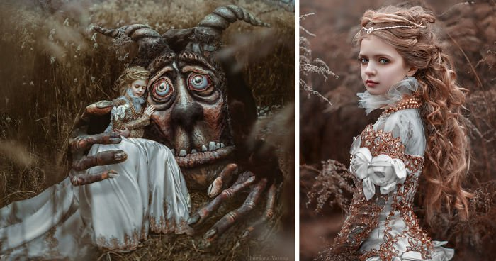 2c7c7ea2e14d3e2a5da34eae88735042 1.jpeg?resize=300,169 - Artist Creates A Monster And Uses It To Bring The Tale Of 'Beauty And The Beast' To Life
