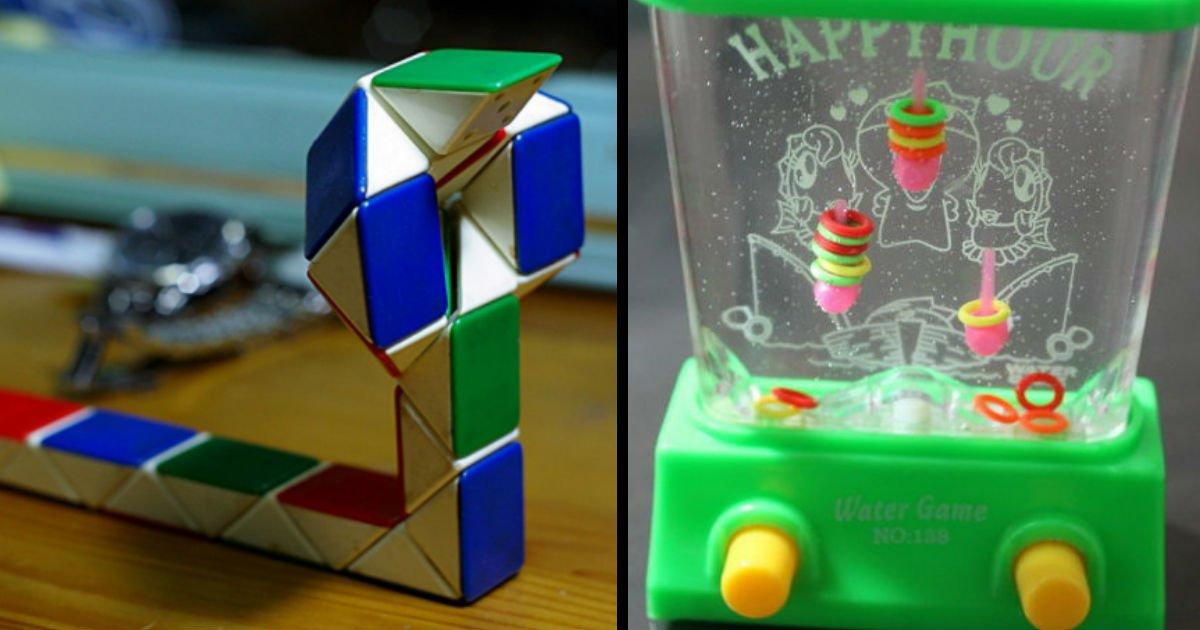 3241 - 8090년대생들이 많이 갖고 놀았던 '추억의 장난감' BEST 10