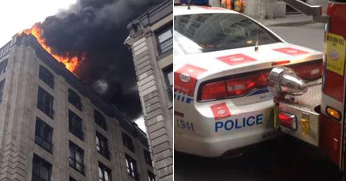 333333333.png?resize=648,365 - 불법주차된 BMW 밀치고 화재현장 진입하는 캐나다 소방차 (영상)