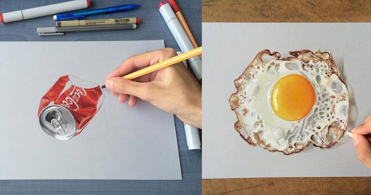 3dtrick.jpg?resize=1200,630 - Incredible 3D Trick Art On Paper That Proves Your Brain Can't Always Be Trusted