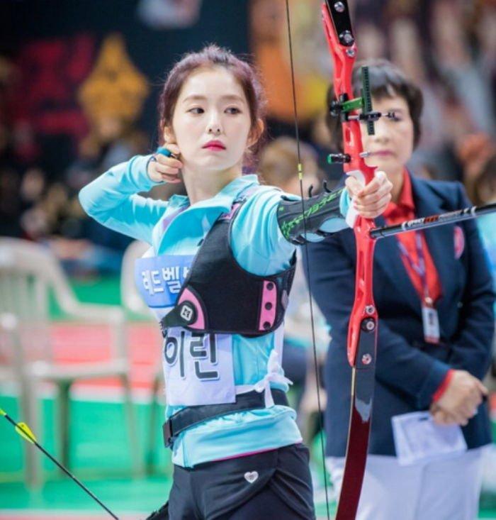 2017년 '아육대'에 출연한 아이린 / MBC