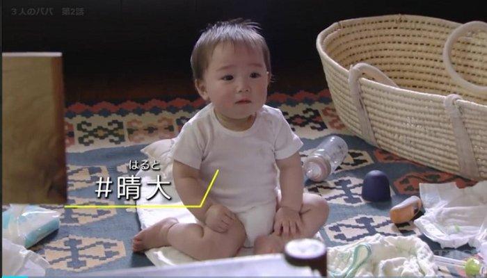 TBS '3인의 아빠' 화면