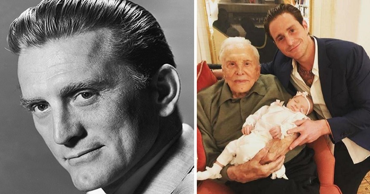 5265 - Kirk Douglas Celebrates His 101st Birthday And Becomes A Great-Grandfather