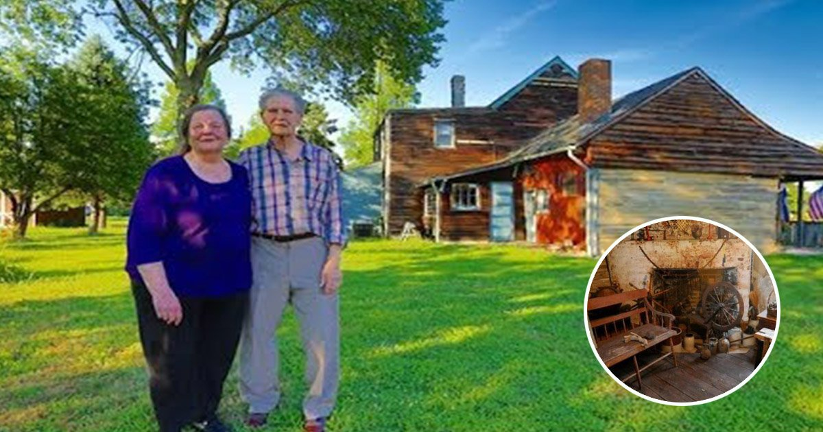 Couple selling the oldest log cabin in america and says for Selling a log home