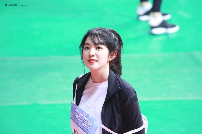 2018년 '아육대'에 출연한 아이린 / MBC