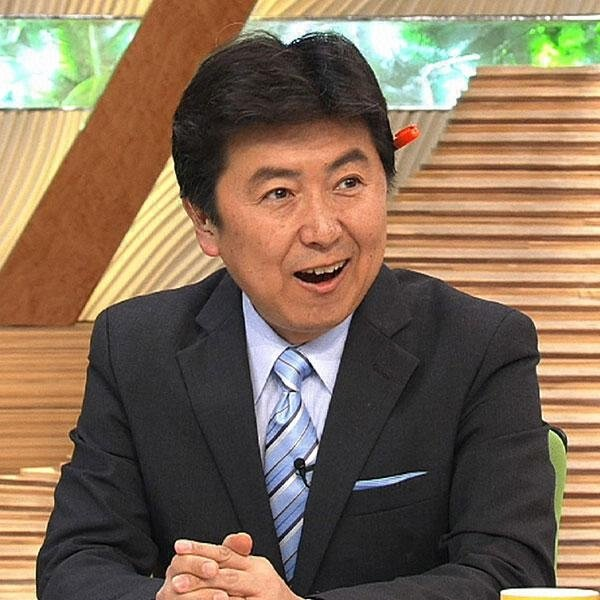 Image result for 笠井信輔アナ